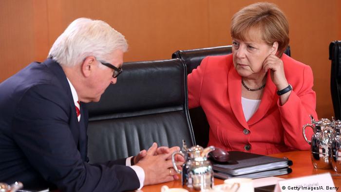 Deutschland Kabinettssitzung Rüstungsexportbericht