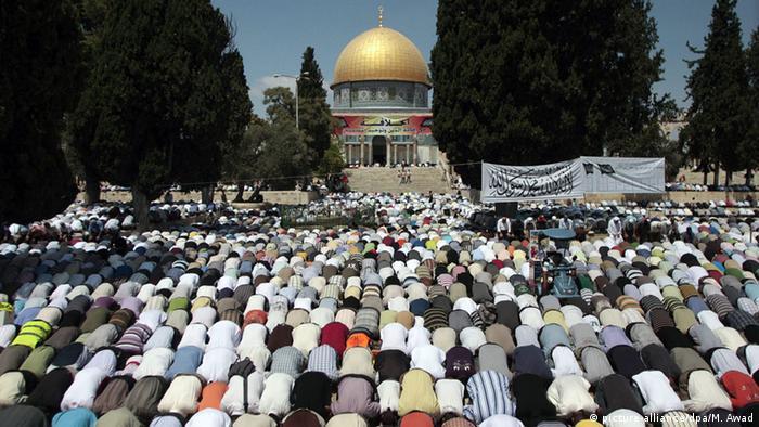 Israel Freitagsgebet Tempelberg Jerusalem
