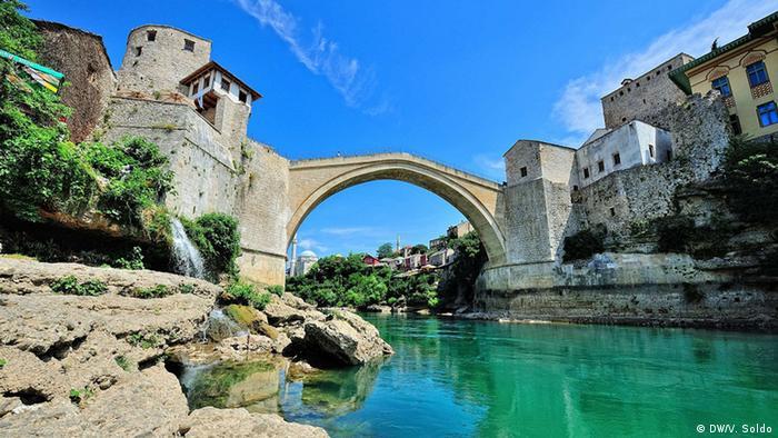 Bosnien Mostar Tourismus (DW/V. Soldo)