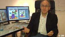 Screenshot Charlie Hebdo Chefredakteur Gerard Biard