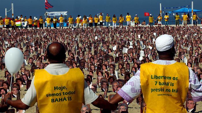 تظاهرات ۱۹ ژوئن ۲۰۱۱ در ریو دو ژانیرو علیه بازداشت بهاییان در ایران