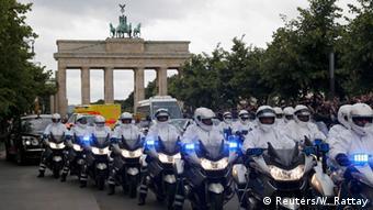 Deutschland Queen in Berlin weiße Mäuse