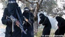 Symbolbild Deutsche Frauen beim IS