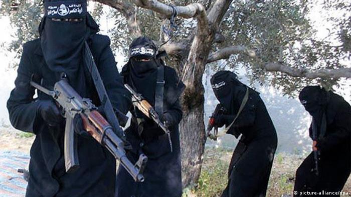 Female Islamic State fighters