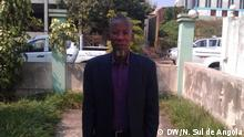 Titel: Arão Bula Tempo - Aktivist in Cabinda - Angola Der Fotograf, unsere Korrespondent (Angola) Nelson Sul de Angola, tritt die Rechte an den Fotos an die DW ab.