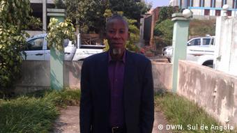 Angola Arao Bula Tempo Aktivist in Cabinda