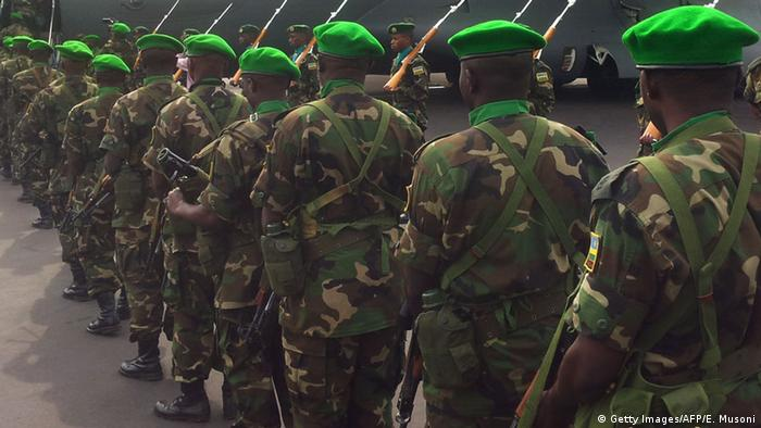 Symbolbild Ruanda Militär Karenzi Karake verhaftet