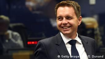 Slowakei Finanzminister Peter Kazimir