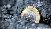 Symbobild Euro am Abgrund