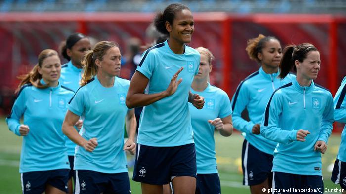Kanada Frauen Fußball Wm Team Frankreich Training