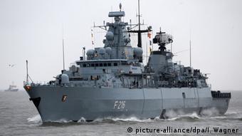 Πλοίο του γερμανικού πολεμικού ναυτικού θα συμμετάσχει στην αποστολή, μεταδίδει το dpa