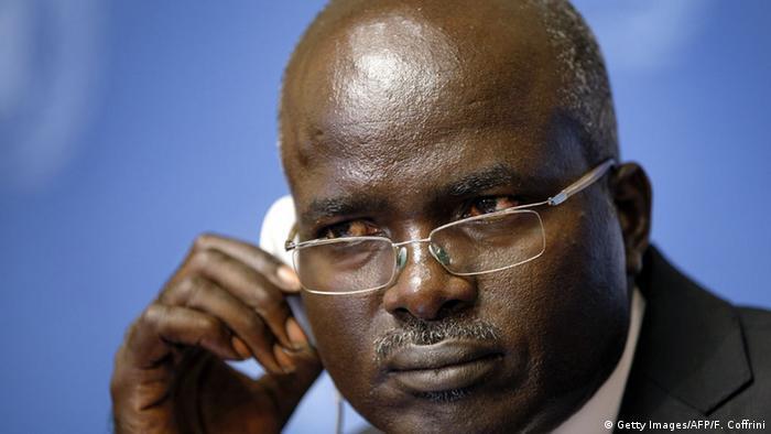 Burundi Vize-Präsident Gervais Rufyikiri (Foto: Getty Images/AFP/F. Coffrini)