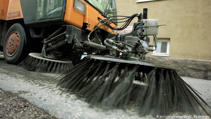 Helsinki street sweeper