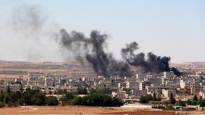 Grad Kobane na u blizini sirijske granice mjesecima je bio na udaru IS-a