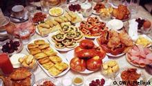 Marokkanisches Essen zum Ramadan