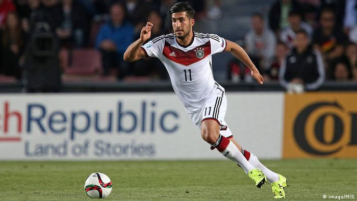 DFB Nationalmannschaft Emre Can