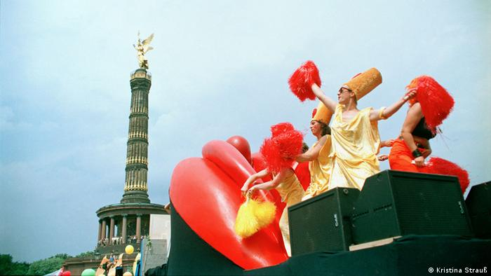 Christopher Street Day Berlin, 1998, Copyright: Kristina Strauß