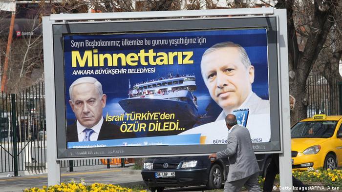 Ankara Pakat Netanjahu Erdogan Gaza-Flotte Streit