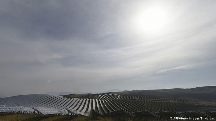 Крупная солнечная электростанция на юге Франции