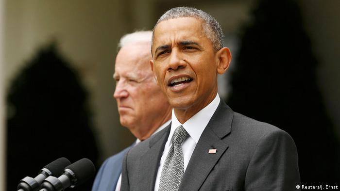 Washington Supreme Court Entscheid über Obamacare PK Obama (Reuters/J. Ernst)