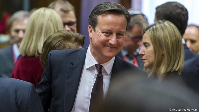 David Cameron (Photo: REUTERS/Yves Herman)