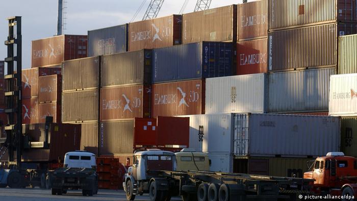 O porto de Santos, maior do Brasil, pode se beneficiar da experiência alemã no setor