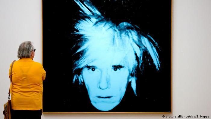 München Museum Brandhorst Andy Warhol Werkschau Selbstporträt