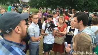 Противники строительства храма в Торфянке объясняют свою позицию