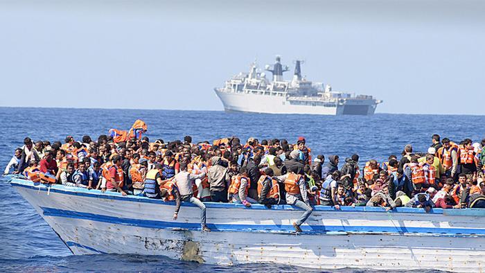 26.06.2015 DW Wirtschaft Fluechtlinge mittelmeer