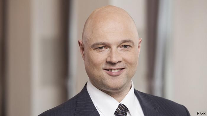 Александер Маркус - голова правління Німецько-Української промислово-торговельної палати