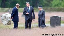 Deutschland Großbritannien Queen Elizabeth im KZ Bergen-Belsen