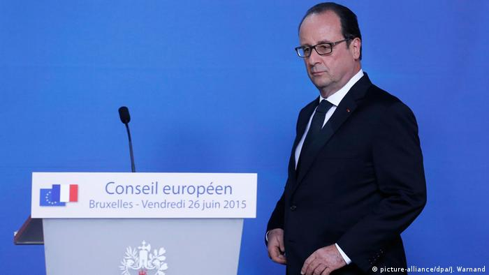 Frankreich Anschlag bei Grenoble Ansprache Hollande