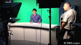 The Novorossia TV studio