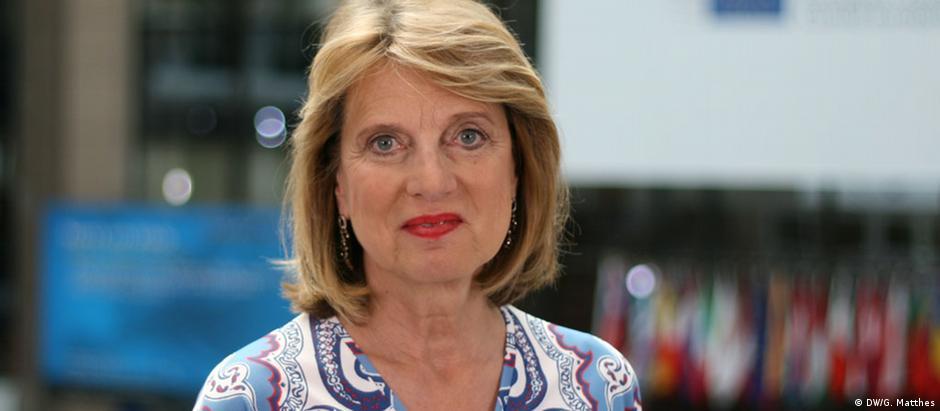 Barbara Wesel, jornalista política na sucursal da DW em Bruxelas