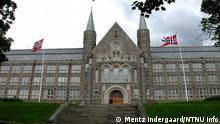 Gezeigt wird das Hauptgebäude von der Norwegian University of Science and Technology Wann? Juni, 2006 Rechte / Copyright: Mentz Indergaard/NTNU Info