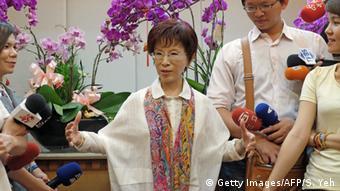 Taiwan Hung Hsiu-chu designierte Kandidatin Präsidentschaftswahl