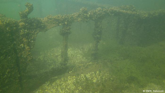 Mazedonien Unterwasserfund Ohrid See