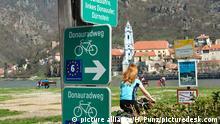 Bildergalerie der beliebtesten Radfernwege Donauradweg und Eurovelo 6