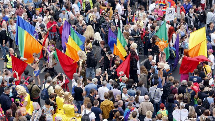 Christopher Street Day in Berlin 2015