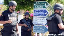 Tunesien Sousse Terroranschlag - Sicherheitskräfte