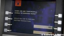 Griechenland Geldautomat