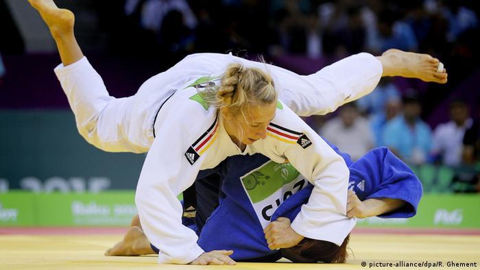 لاعبة الجودو الألمانية مارتينا ترايدوس (أرشيف)