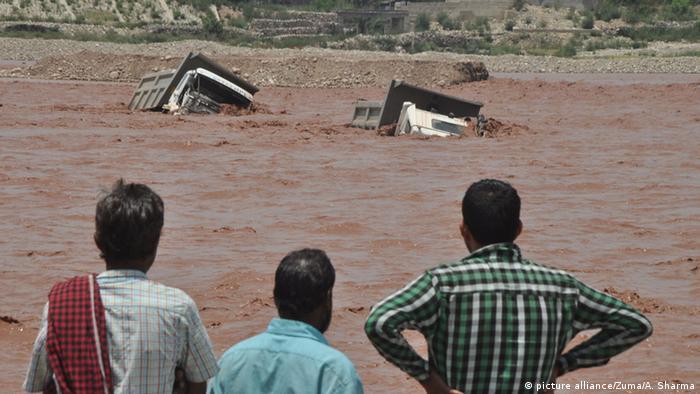 Indien Überschwemmungen vom 25.06.2015