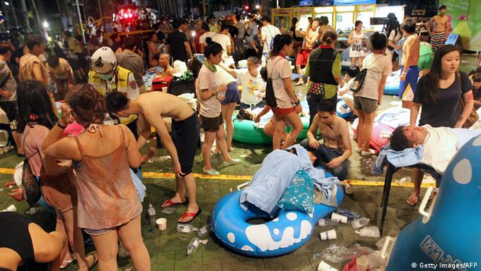 Fire injures hundreds at Taiwan Color Play Asia party   News