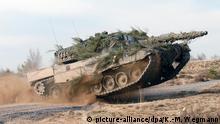Kampfpanzer vom Typ Leopard 2