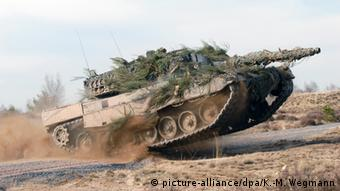 Tanque Leopard 2.