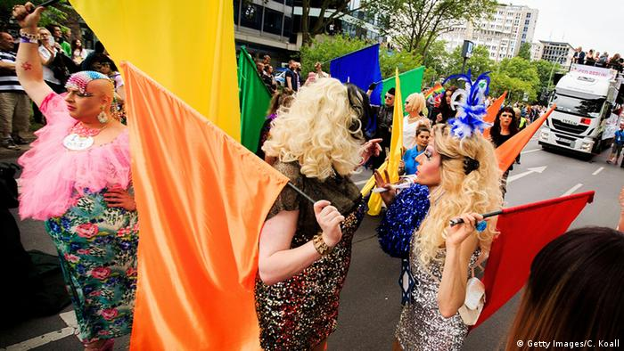 CSD Christopher Street Day in Berlin (Photo by Carsten Koall/Getty Images)