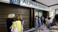 Griechenland Geld Geldautomat