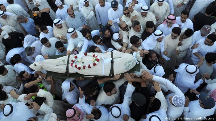 Kuwait Anschlag Beerdigung