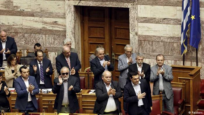 Athen - Parlament